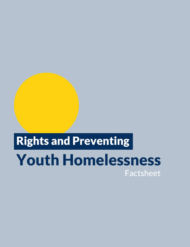 Rights and Preventing Youth Homelessness Factsheet