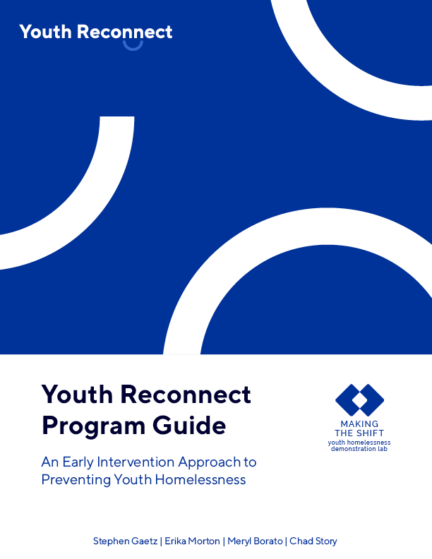Youth Reconnect Program Guide Cover