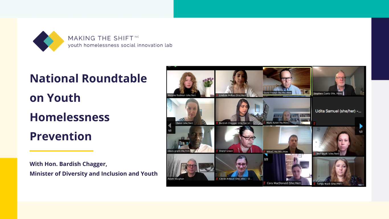 National Roundtable on Youth Homelessness and Prevention